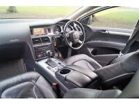 "Audi Q7 3.0TDI V6 Quattro 232bph 2007 SatNav Bose Full Leather 7-Seats 20""Wheels"