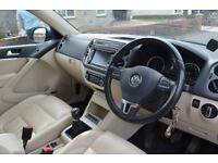 VW Tiguan Bluemotion 2011
