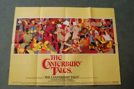 the canterbury tales ' original cinema poster