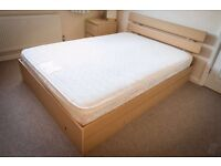 Very good double bed, only been used a handful of times, been in our guest room, never use it.