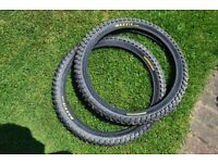 BMX bicycle Maxxis Maxx Daddy tyres (20 x 2.25) pair