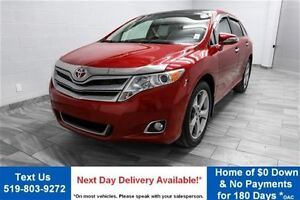 2013 Toyota Venza V6! AWD w/ LEATHER! PANORAMIC ROOF! ALLOYS! RE