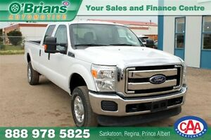 2015 Ford F-350 XLT - 4x4 6.2L V8 POWERTRAIN WARRANTY