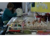 Textile Workshop at the d.@rt Centre: Scrapbooking and Stitch with Lorna Miller