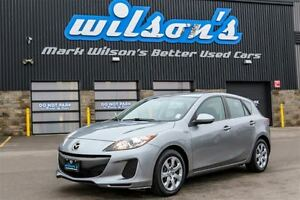 2013 Mazda MAZDA3 GX SPORT HATCHBACK! POWER PACKAGE! KEYLESS ENT