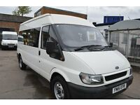 2002 Ford TRANSIT MINI BUS 9 seat in GOOD Condition with MOT Until 2017 NOVEMBER