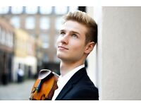 Violin Teacher in London - ONLINE LESSONS UNTIL MID-SEPT