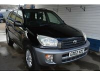 Toyota RAV 4 2002 In excellent condition 94000 miles MOT until May 2017