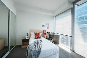 Garden views from a 2 Bedroom Apartment, Internet included Melbourne CBD Melbourne City Preview