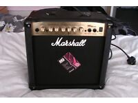MARSHALL MG15 CDR GUITAR AMP
