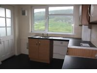 NO BOND, DEPOSIT OR AGENCY FEES. Spacious two bed flat with balcony available immediately in Maerdy