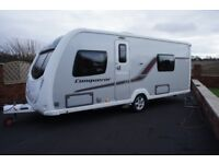 2013 SWIFT CONQUEROR 565 SR TWIN FIXED BEDS 4-BERTH SILVER MUST BE SEEN