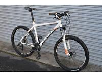 Carrera Kraken mountain bike, large frame, suntour XCR, SRAM x5, hydraulic Mint condition customized