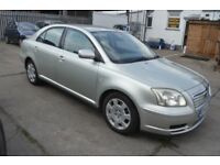 2004 TOYOTA AVENSIS T2 MOT UNTIL JANUARY 2019