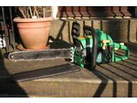 Gardenline 42cc petrol chainsaw 16 inch bar