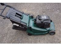 lawnmower qualcast admiral 16inch cut rotary mower with rear roller