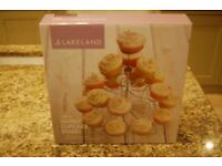 Lakeland cupcake stand - VGC - collection Dedham - free local delivery possible - £5