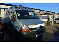 Renault MASTER 2007 Reg with MOT Until 2017 December ONLY £1995