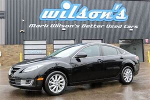 2013 Mazda MAZDA6 GT LEATHER! NEW TIRES!  SUNROOF! HEATED SEATS!