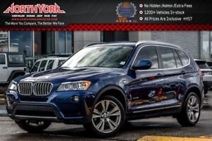 2014 BMW X3 xDrive35i|ColdWthr,Premium,DrvrAsst.Pkgs|Nav|PanoS