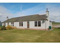 3 Bedroom semi-detached house in rural location - 9 miles from Forfar