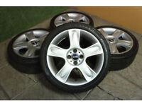 """Genuine MINI 17"""" Bullet Alloy wheels 4x100 Cooper S One Alloys MG ZR Cabrio"""