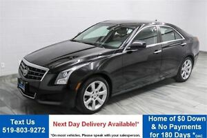 2013 Cadillac ATS 2.0L TURBO! LEATHER! HEATED SEATS! PUSH BUTTON