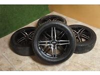 """Genuine Autec 16"""" Alloy wheels 4x98 Fiat Punto Panda 500 Stilo Doblo Qubo Alfa Mito Citroen Nemo"""