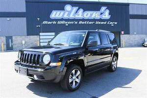 2016 Jeep Patriot HIGH ALTITUDE 4X4! $73/WK, 5.49% ZERO DOWN! LE
