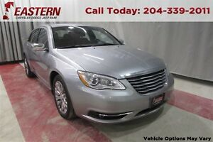 2013 Chrysler 200 Limited AT USB RADIO A/C CRUISE AM/FM REMOTE E