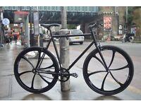 Brand new single speed fixed gear fixie bike/ road bike/ bicycles + 1year warranty & free service 1a