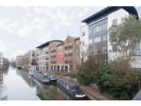Two Bed/Two Bath Flat with Balcony Overlooking Regents Canal, Moments to Haggerston Station