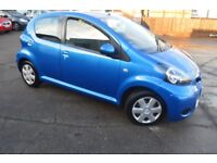 2011 TOYOTA AYGO BLUE VVT-I MOT UNTIL JUNE 2018