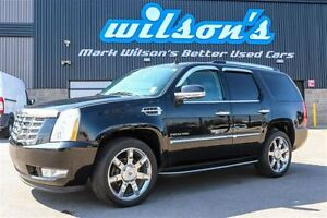 2013 Cadillac Escalade AWD 7-PASS! LEATHER! NAVIGATION! HEATED F