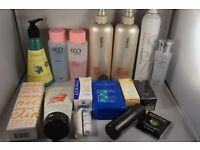 Job Lot of 17 items - Hair.Perfume,Make up,Skin care poducts