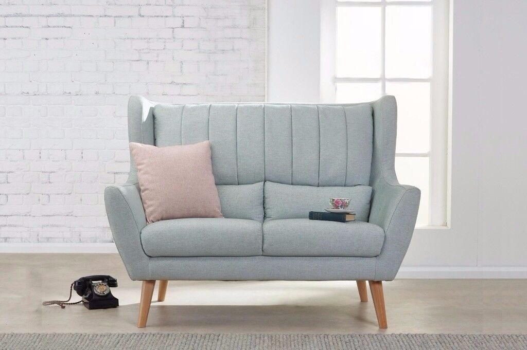 Retro Large 3 Seater Sofa | Luxury and High Quality | Expertly Handcrafted | FREE DELIVERY