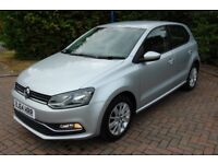 Volkswagen Polo Mk VI 2014 1.4 TDI SE 75ps Bluemotion Technology 5 door Manual £0 Road Tax 3 owners
