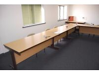 Office tables / Conference Room x 16 Buyer Collects