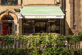 Kitchen Porter Required for small french restaurant in east london