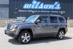 2016 Jeep Patriot HIGH ALTITUDE 4X4! LEATHER! SUNROOF! $74/WK, 5
