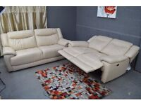 EX DISPLAY (F-Village) MODENA 3+2 ELECTRIC RECLINER SOFA SET