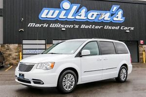 2016 Chrysler Town & Country TOURING-L! LEATHER! DUAL DVD! REAR