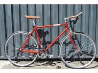 Brand new single speed fixed gear fixie bike/ road bike/ bicycles + 1year warranty & free service e