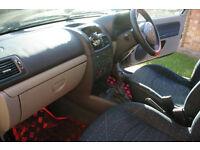 2002 Renault Clio hatchback Low mileage 65100 MOT till Sept 2017