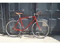 Brand new single speed fixed gear fixie bike/ road bike/ bicycles + 1year warranty & free service bt