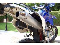 Suzuki Drz 400sm. 58 plate, 12733 miles mrd ssw exhaust.