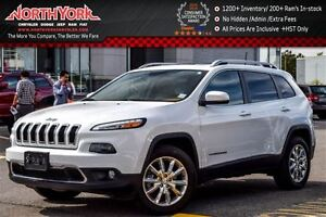 2016 Jeep Cherokee Limited 4x4|Luxury,Trailer Tow Pkg.|Nav|Pano_