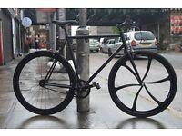 Brand new single speed fixed gear fixie bike/ road bike/ bicycles + 1year warranty & free service 4d