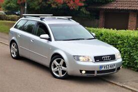 "Audi A4 1.9TDI S Line PD 130bhp 6-Speed 13-Mot! Full Service Xenon Bose 17"" Wheels S4 Reg.2004"
