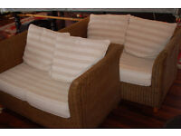 2x two seater conservatory sofas